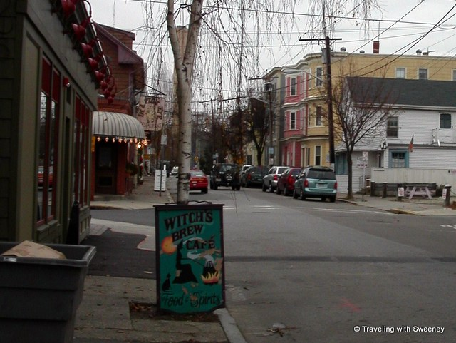 Witch's Brew Cafe in scary Salem, Massachusetts