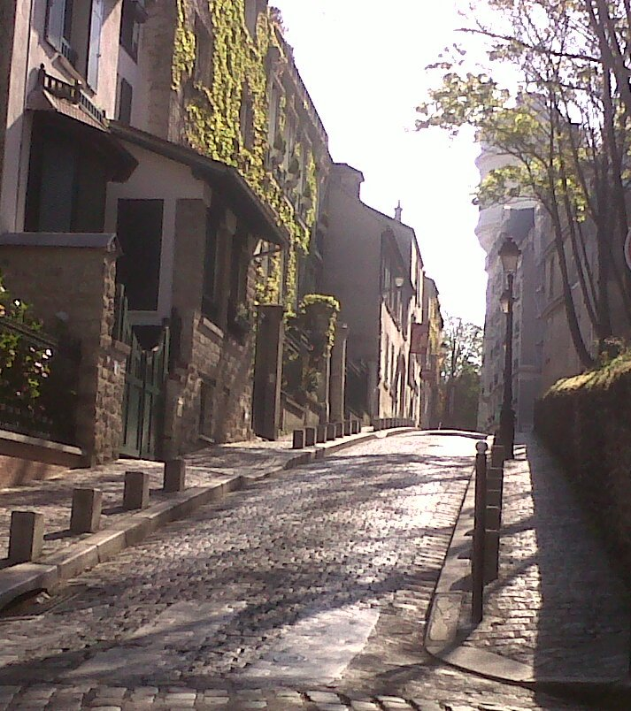 Rue Cortot, Montmartre, Paris, France