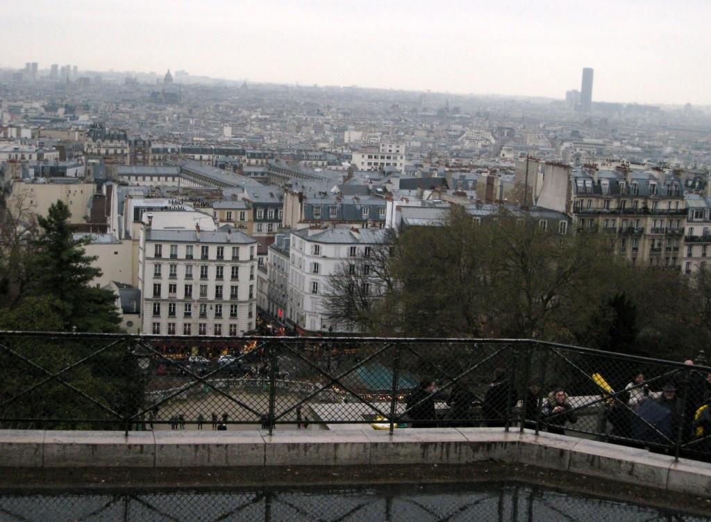 View from Sacré-Coeur, Paris, France