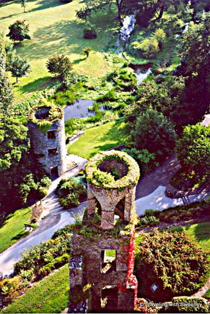 Towers and grounds of Blarney Castle, Ireland