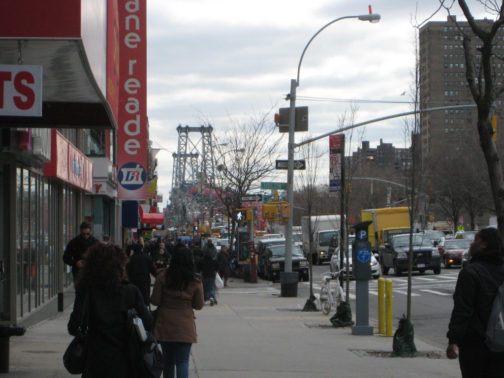 Delancey Street, New York City