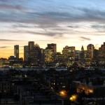Boston Skyline from the Rooftops