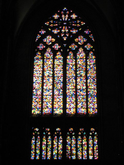 Stained glass windows in Cologne Cathedral