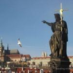 Crossing the Vltava: Prague