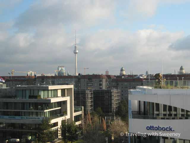 The Fernsehturm Berlin