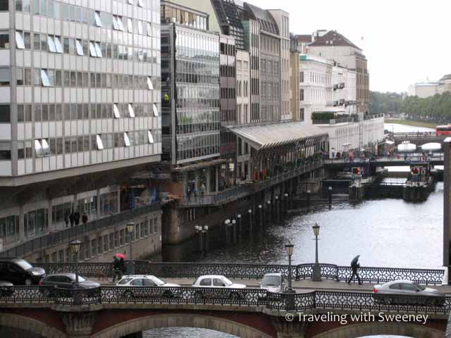Alster Canal from Sofitel