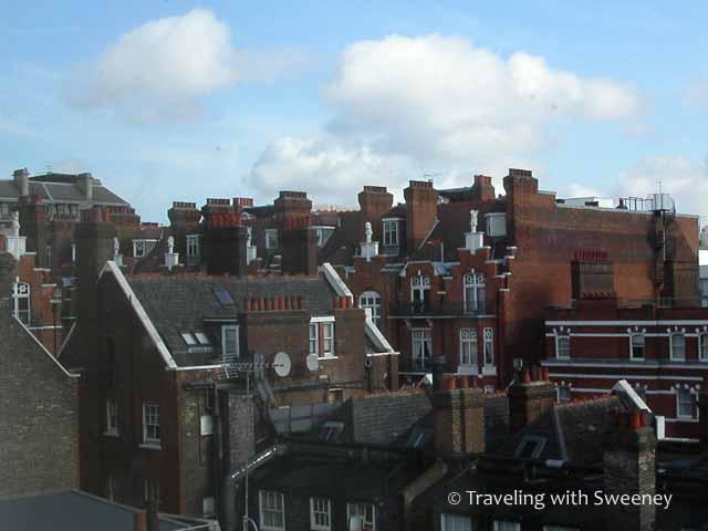 London from Sherlock Holmes Hotel