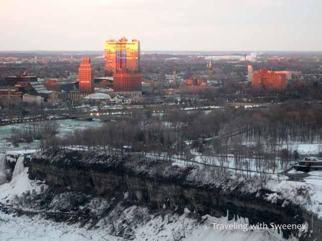 View from Embassy Suiets at Niagara Falls