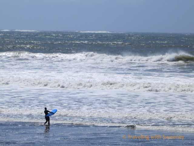 Braving the Waves at Half Moon Bay