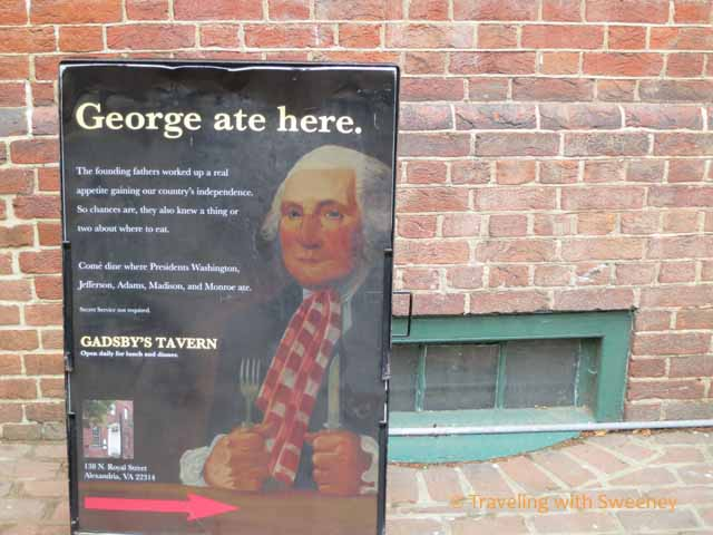 An Afternoon with George Washington in Old Town Alexandria