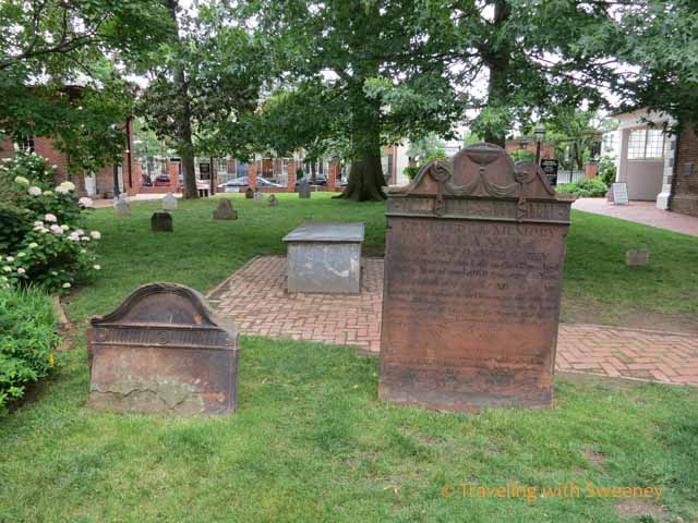 Graveyard at Christ Church