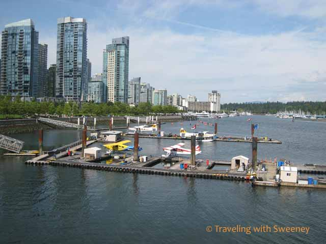 Vancouver views at Coal Harbour, Vancouver, Canada