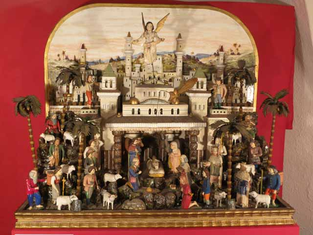 Nativity Scenes at Peterskirche