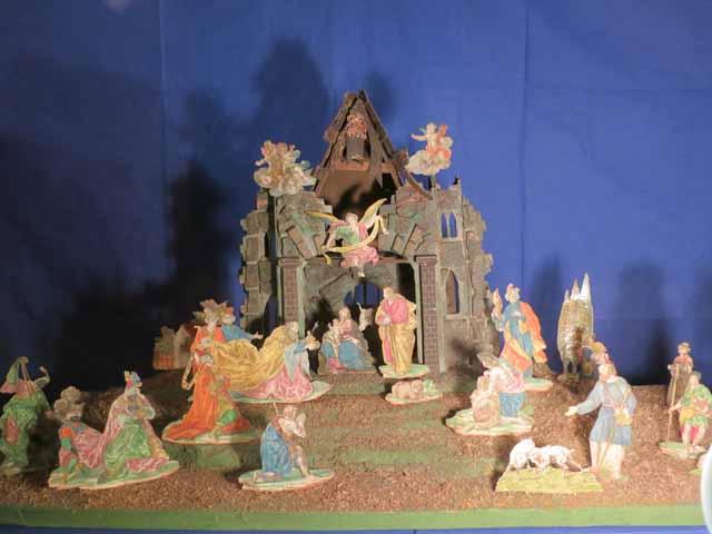 """Nativity Scene at Peterskirche"""