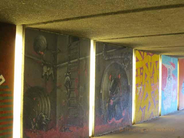 An Angel and Street Art in Munich