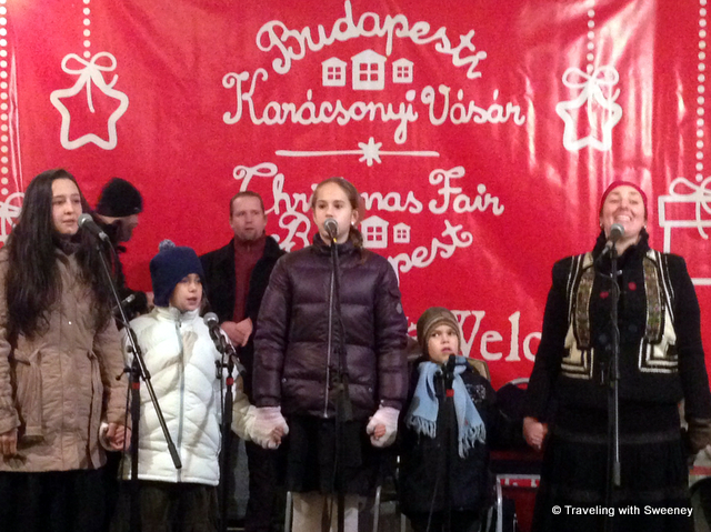 From Budapest and Prague: Singing in the New Year