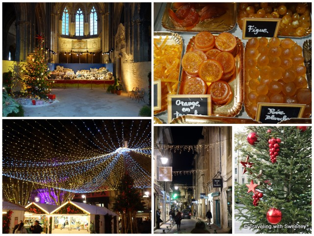 """Christmas in Avignon: from religious nativity scenes to traditional desserts and holiday lights"""