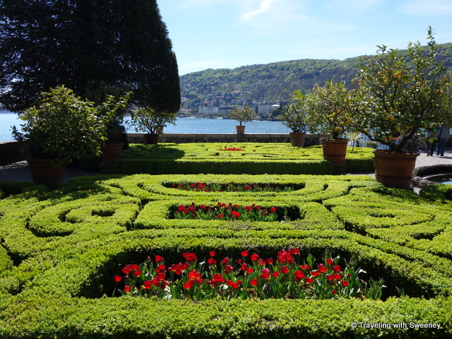 Lake Maggiore Gardens - Garden of Love at Isola Bella