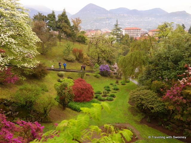 Lake Maggiore Gardens - The diversity of color and bloom was everywhere at Villa Taranto