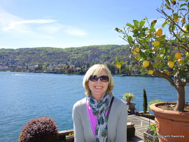 Lake Maggiore Gardens - Basking in the sunshine among the lemon trees of Isola Bella