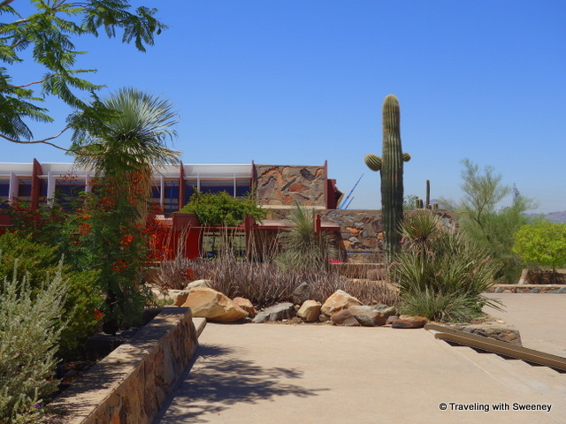Architecture's harmony with nature at Taliesin West in Scottsdale, Arizona