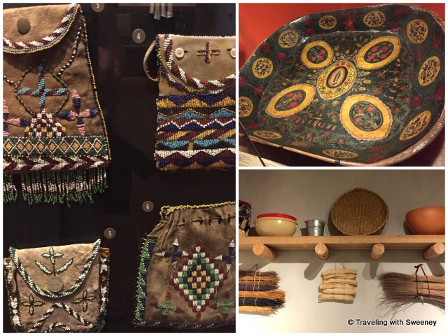 Cultural items of everyday life of the American Indians of the Southwest at the Heard Museum in Phoenix, Arizaon
