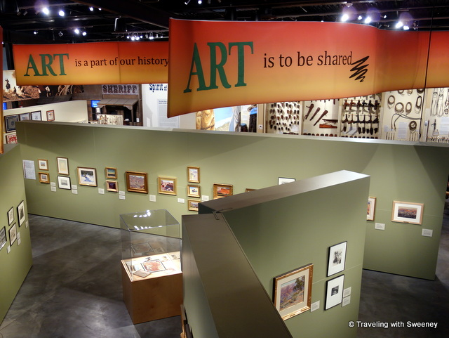 """Art is to be shared"" -- inside Scottsdale's Museum of the West in Scottsdale, Arizona"