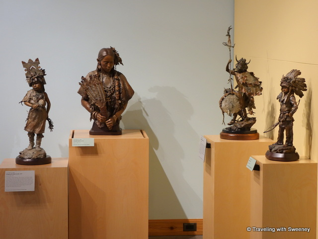 Sculptures by John Coleman at Western Spirit: Scottsdale's Museum of the West in Scottsdale, Arizona