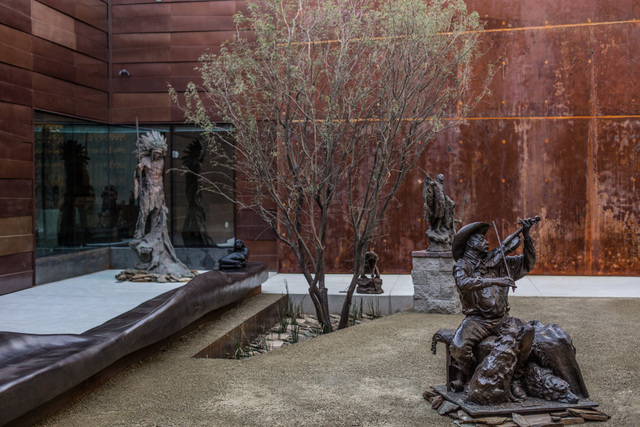 Sculpture Garden at Scottsdale's Museum of the West -- Photo courtesy of Experience Scottsdale