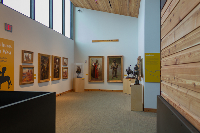 Upstairs gallery, Museum of the West -- Photo courtesy of Experience Scottsdale