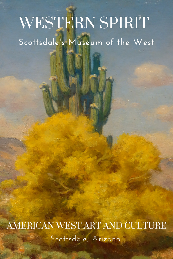 Feel the spirit of the American West in the fine art and rare artifact collections at Scottsdale, Arizona's Western Spirit: Scottsdale's Museum of the West #Scottsdale #Arizona #history #AmericanWest