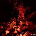 """""""Hell in the Cave"""" at Grotte di Castellana, caverns in the Puglia region of Italy"""