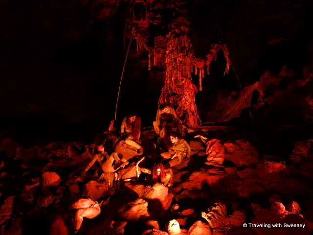 """Hell in the Cave"" at Grotte di Castellana, caverns in the Puglia region of Italy"