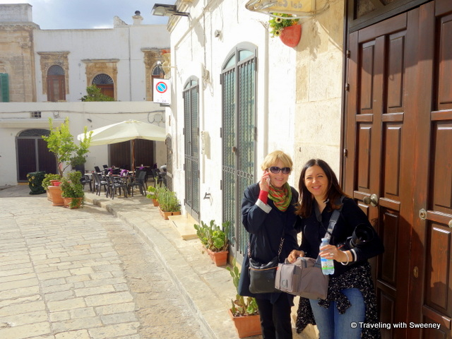 Meeting up with photographer Federica Donadi in the historic center