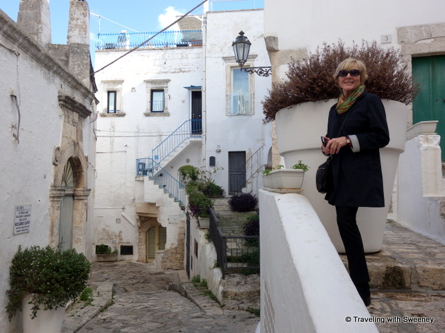 Lovely sights upon every turn in Ostuni, Italy