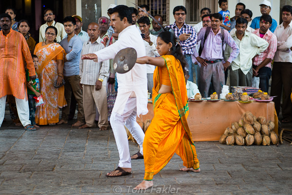 In Kolhapur, a lively demonstration of martial arts, practiced in the 17th century by the warriors of the Maratha Kingdom. -- Photos by Anita's Feast