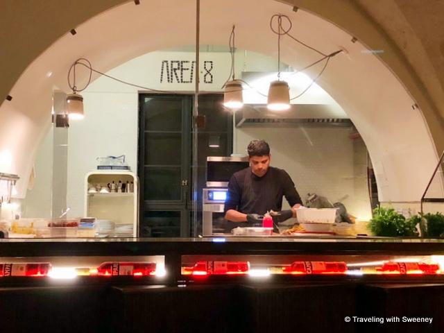 Area 8 in Matera, Italy