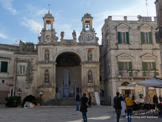 Palazzo Sedile on Piazza Sedile in Matera, Italy