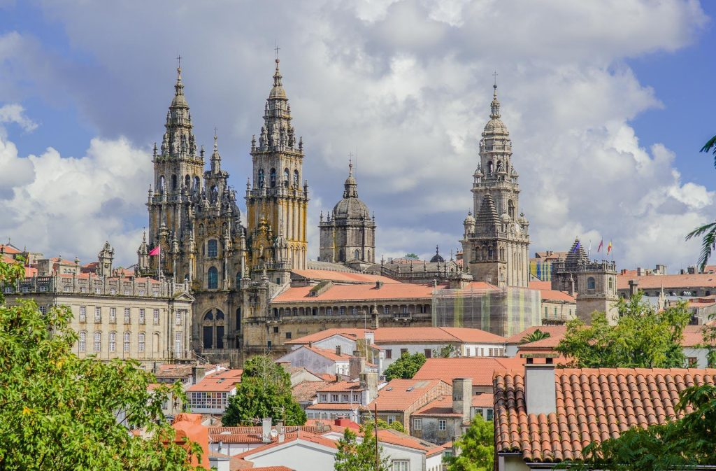 Santiago de Compostela Cathedral -- Photo by Barbara Nelson