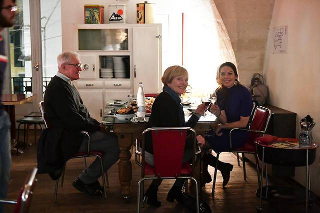 Comfortable ambiance at Area 8 in Matera, Italy makes guests feel at home -- Photo by Federica Donadi
