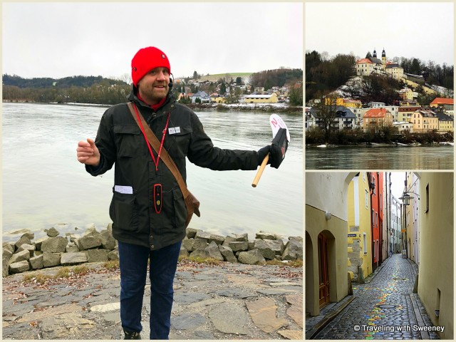 Our Viking Rivers Cruises guide, Chris, introduces us to Passau, Germany during our Romantic Danube cruise