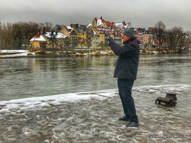 Mr. TWS discovering Regensburg, Germany on a Viking River Cruises journey on the Danube River