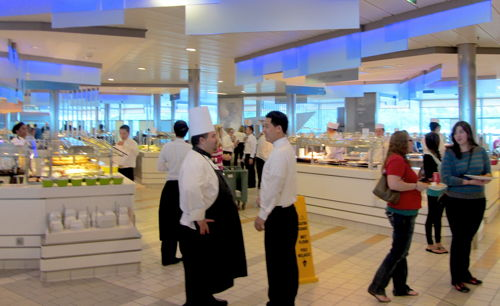 Celebrity Solstice buffet