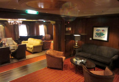 Michael's Club on Celebrity Solstice