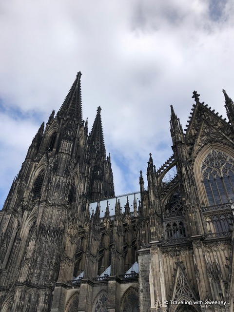Just a partial look at the amazing Kolner Dom (Cologne Cathedral)