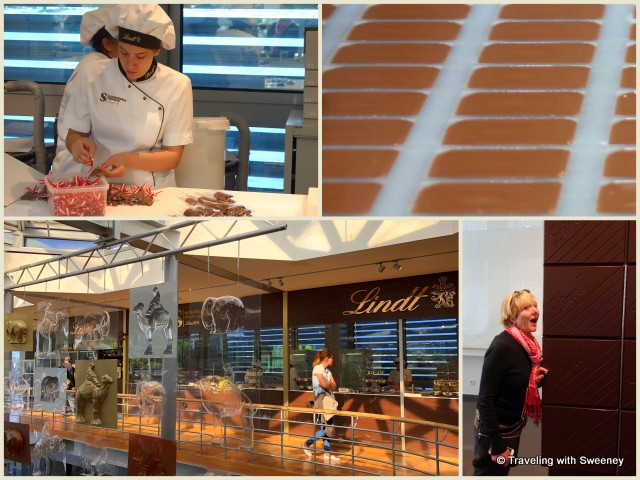 Schokoladenmuseum (Lindt Chocolate Museum) on the Rhine River in Cologne, Germany