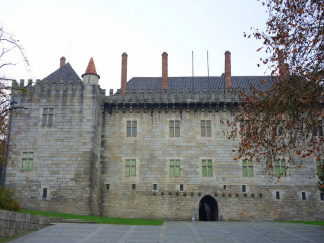 Paco dos Duques in Guimaraes, Portugal, a UNESCO World Heritage Site