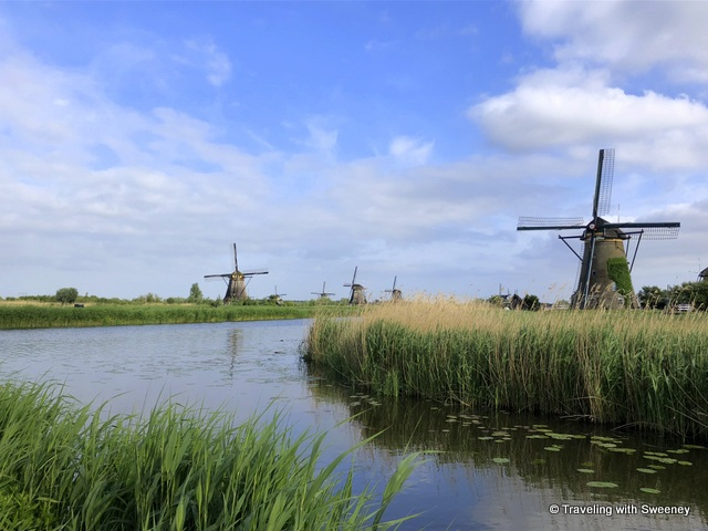 Windmills of Kinderdijk, the Netherlands -- a UNESCO World Heritage Site