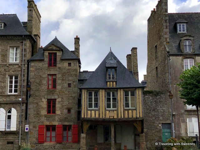La Maison Pavie, a lovely inn in a 15th-century half-timbered building in Dinan, France