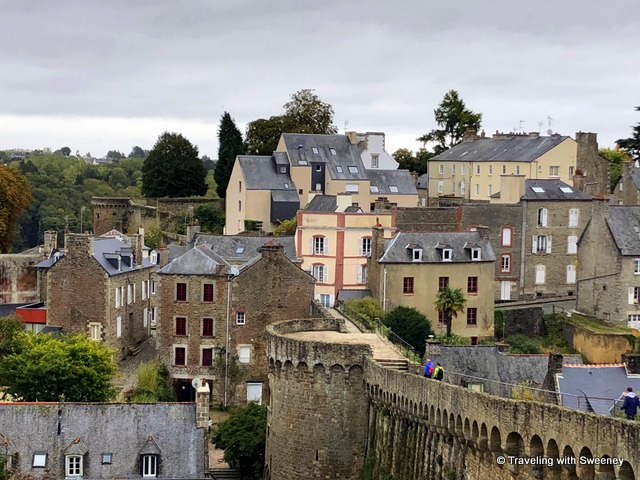 Walking along the ramparts of Dinan is a top thing to do in this medieval city in the Brittany region of France